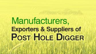 Post Hole Digger, Tractor Post Hole Digger, Post Hole Digger