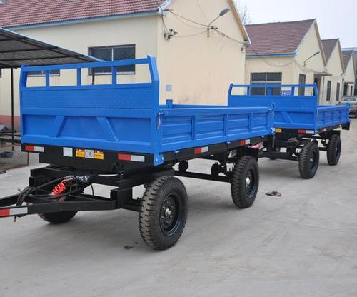 Hydraulic Tipping Trailer (Double Axle, 4 Wheels)