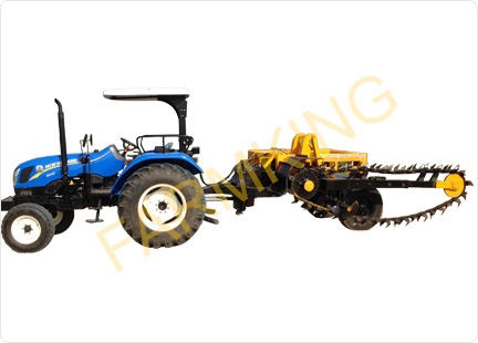 Tractor Mobile Trench Digger